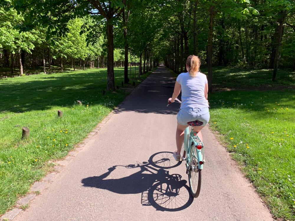 Mit dem Fahrrad in Paris unterwegs