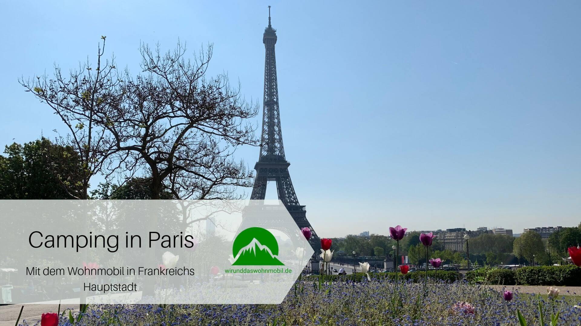 Titelbild Camping in Paris Eiffelturm