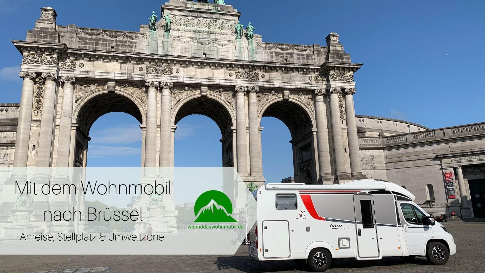 Titelbild Mit dem Wohnmobil nach Brüssel