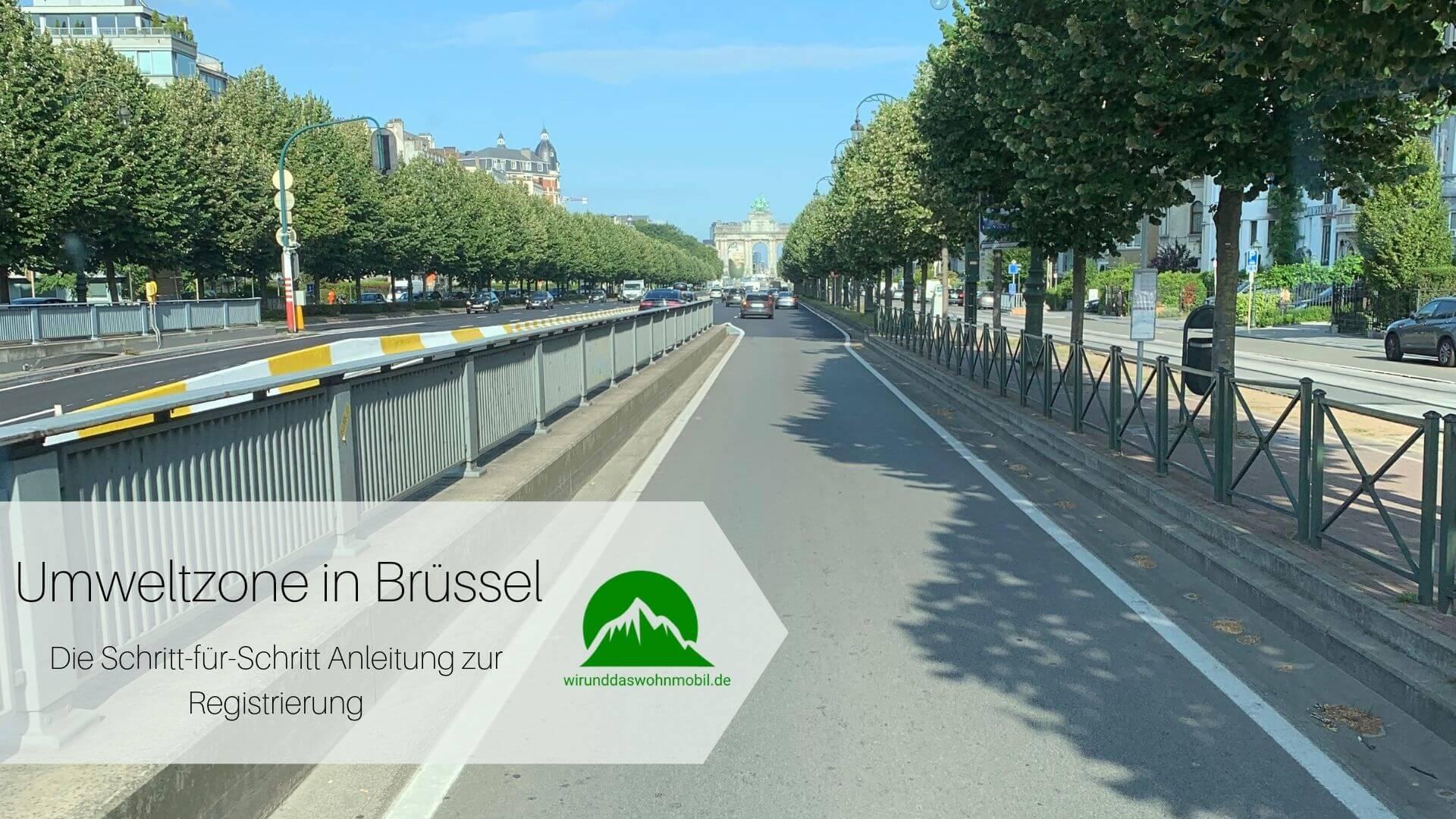 Titelbild Umweltzone Brüssel Mit dem Wohnmobil auf der Straße unterwegs