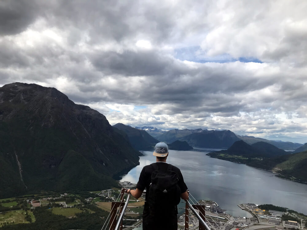 Aussichtsplattform am Romsdalseggen