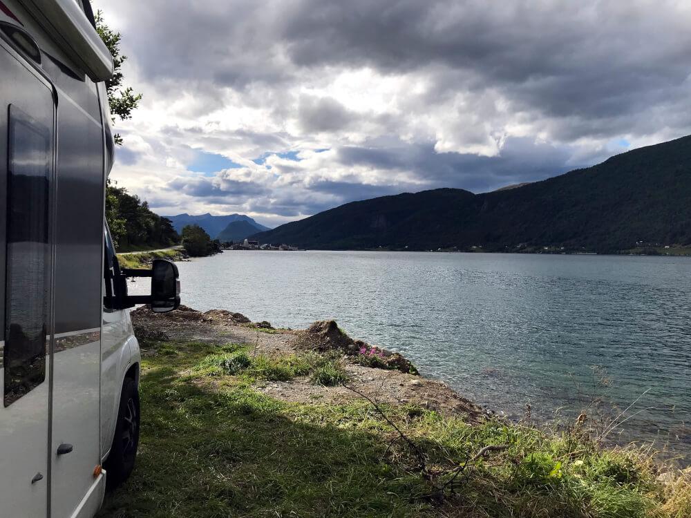 Wohnmobilstellplatz in der Nähe des Romsdalseggen
