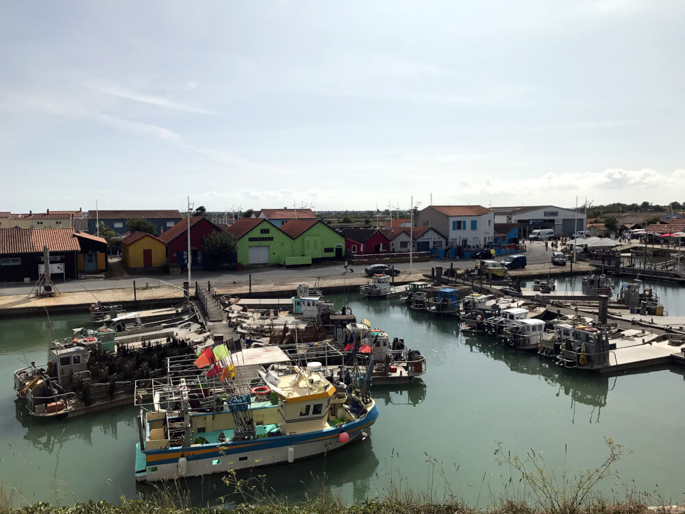 Der Hafen auf der Île d'Oléron