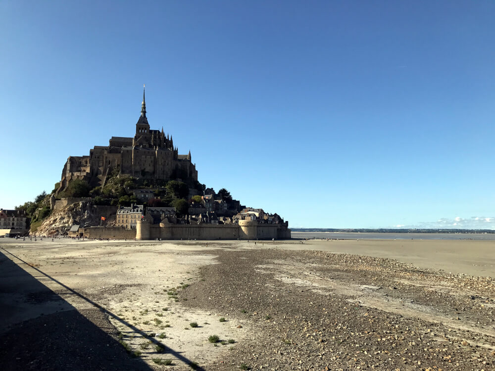 Blick auf Le Mont-Saint-Michel