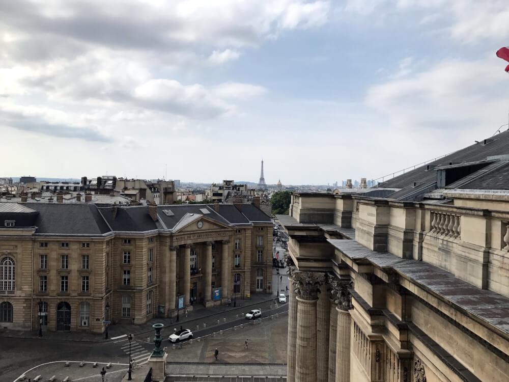 Paris - Blick auf den Eifelturm