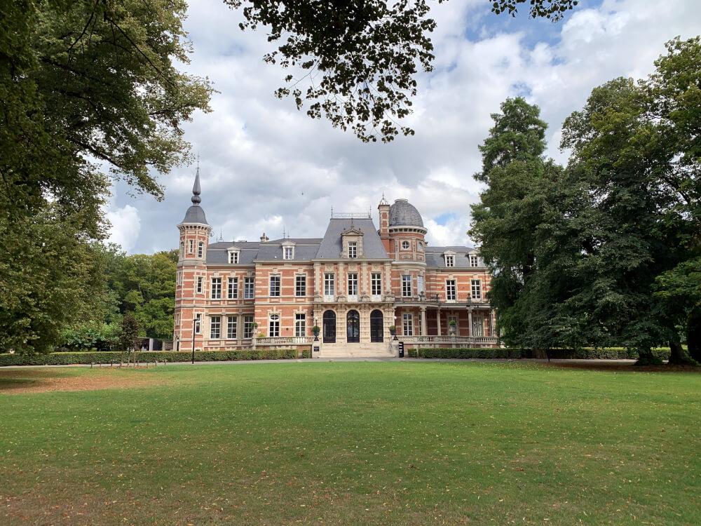 Schloss und Schlosspark in Brasschaat