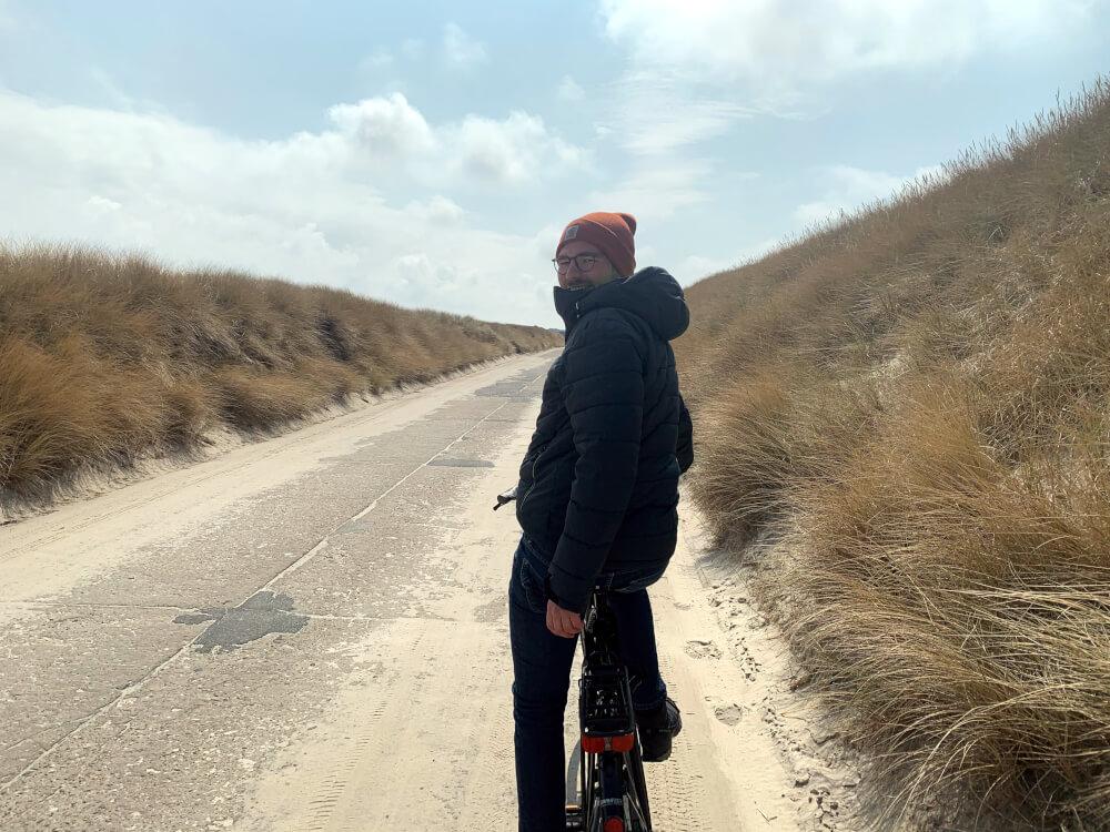 Fahrradweg Naturschutzgebiet