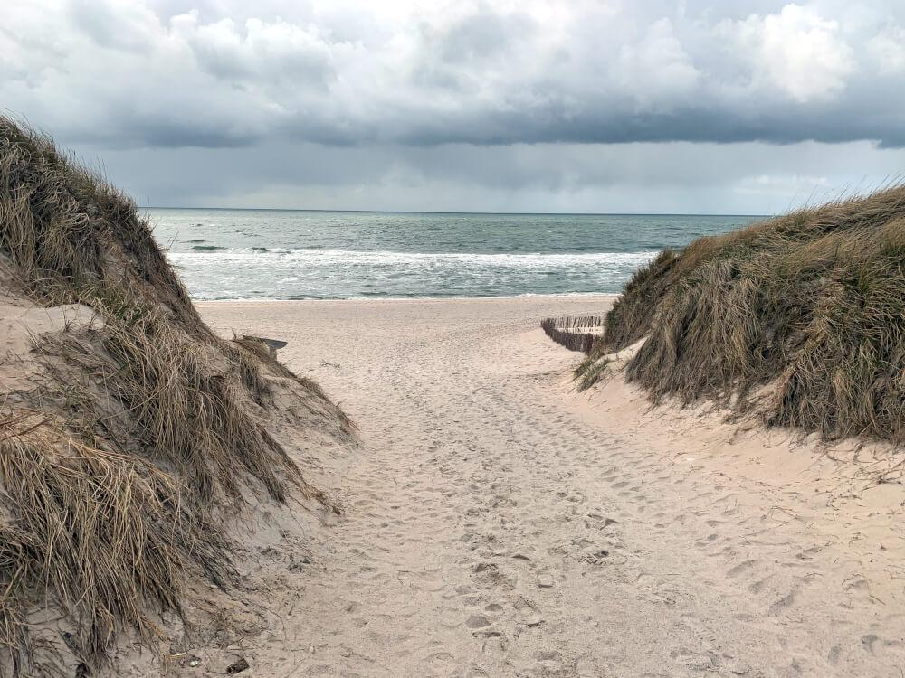 Strand in Hörnum
