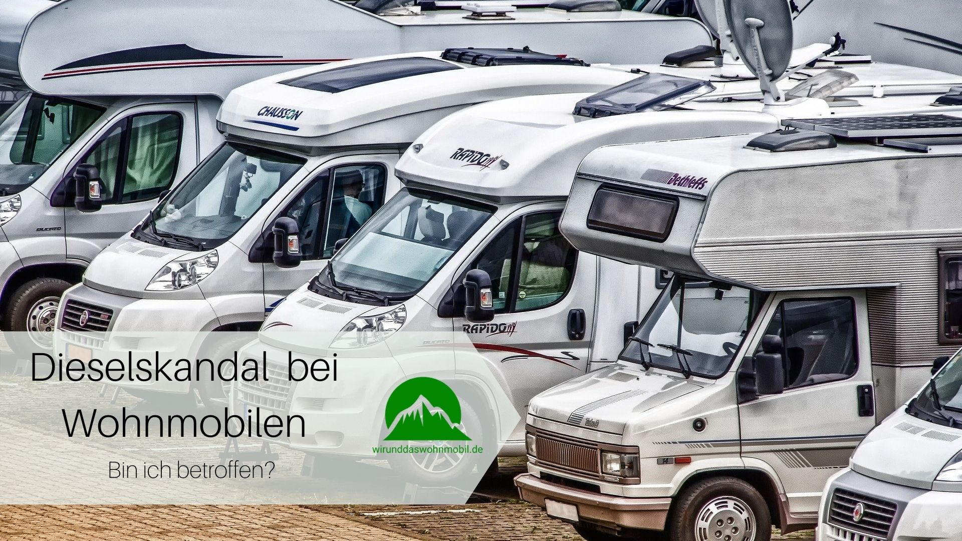 Titelbild Wohnmobile Dieselskandal